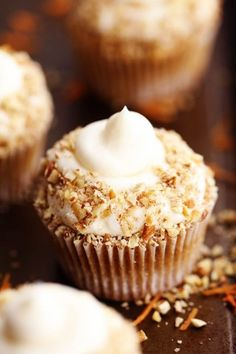 ... carrot cake cupcakes with white chocolate cream cheese frosting