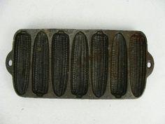 Cast-iron cornbread pan.