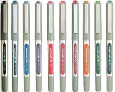 ROTULADOR UNIBALL EYE FINO. Disponible en varios colores. Uniball Eye Micro UB157. Roller punta de bola. Con regulador de tinta pigmentada, indeleble, resistente a la luz solar. Con visor de nivel de tinta.