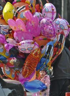 balloon user.