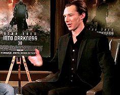Benedict Cumberbatch -- hysterical