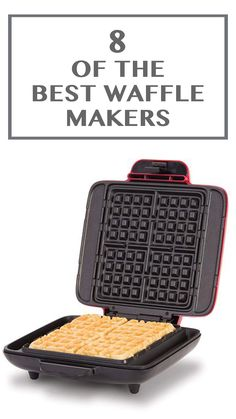 Finding the perfect waffle maker takes a lot of research. Luckily, we've done …: Finding the perfect waffle maker takes a lot of… Mickey Mouse Waffle Maker, Best Waffle Maker, Waffle Iron, How To Make Breakfast, Waffles, Good Things, Hard Work, Gifts, Presents