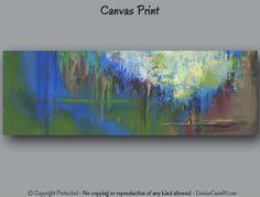 Abstract print Large wall art Canvas art print par ArtFromDenise