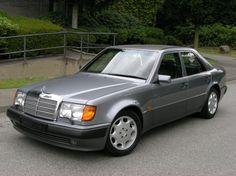 1993 Mercedes-Benz 500E.