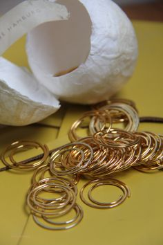 Bethge - Hamburg paper clips limited edition 24 carat gold-plated  http://colourliving.co.uk/paper-clips