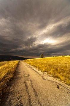 aspettando il temporale....