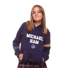 Buzo canguro de Egresados BUZO MICHAEL HAM Hoodies, Sweatshirts, 21st, Graphic Sweatshirt, Sweaters, Jackets, Outfits, Fashion, Productivity