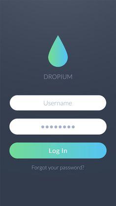 32 Modern App Sign In / Login Screen UI Designs-17