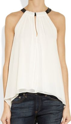 Cute Cheap Halter V-neck sleeveless chiffon shirt - Blouses Online Shopping Free Shipping 1213022705