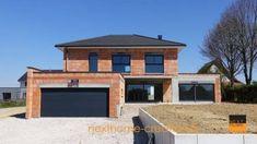 Villas, Hillside House, American Houses, Florida Style, Mediterranean Home Decor, Tuscan Decorating, Garage Plans, Modern House Plans, Next At Home