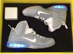 "Nike Lebron 9 ""McFly"" Customs by El Cappy Customz"