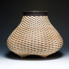 Contemporary cat's head basket in black and by JustaBunchofBaskets, $3000.00