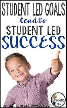 Tips for starting a Student-Led Goals program in your classroom.