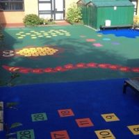 Multi Use Rubber Playground Flooring