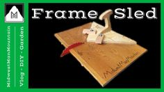 Learn how to build a 90 degree framing sled for your table saw!