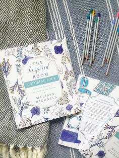 The Inspired Room Home Decor Coloring Book