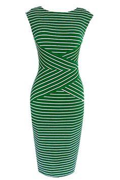 Cupshe Between the Lines Sailor Dress