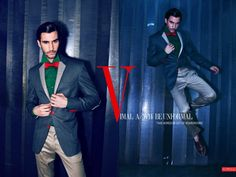 Reliance Vimal A/W'14 Be-Unformal by Maul Gohel