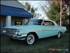 My first car-1961 Chevy Impala Convertible. I didn't even know how cool it was at the time!