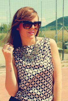 more pics here http://amemipiacecosi.blogspot.it/2014/07/outfit-abito-nero-e-rosa-con-gonna-balze.html  #dress #dresses #summerdress #summerlook #summeroutfit #ootd #outfit #pink #black #skirt #printeddress #print #printed #clutch #perspex #trasparentclutch #sandals #heels #pullbear #gladiatorsandals #robertocavalli #sunglasses #occhialidasole #zara #statementnecklace