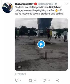 Bethlehem Girls College, The Main Casualty Of Lagos Explosion: Some Students Died While Some Rescued-operanewsapp College Girls, Student, Lakes