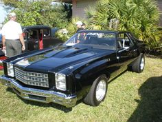 My 1976 Monte Carlo.  Bought off orginal owner in 1993, but of course it didn't look quite like this then.