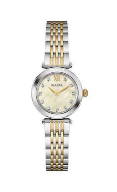 Brand New Bulova #98L225 Ladies Diamond Watch #Bulova #DressFormal