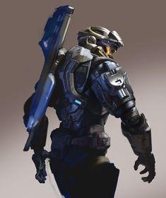 training, Jay Li on ArtStation Halo Reach, Halo Game, Halo 5, Robot Concept Art, Armor Concept, Zooey Deschanel, Armadura Do Halo, Halo Drawings, Halo Cosplay