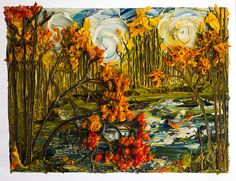 40X30 Lakescape By: Justin Gaffrey