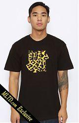 Undftd, 5 Strike Leopard T-Shirt - Black at MOOSE Limited, MLTD.com