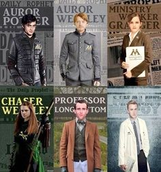 Harry Potter Cast Jobs Auror Harry Potter Professor Draco Malfoy Auror Ron Weasley Ministry Worker Hermione Granger Chaser Ginny Weasley Professor Neville Longbottom - oh yeah, totally. Harry Potter Jobs, Hery Potter, Mundo Harry Potter, Harry Potter Cast, Harry Potter Fandom, Harry Potter World, Potter Facts, Expecto Patronum Harry Potter, Magie Harry Potter