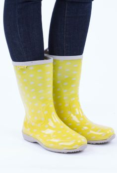 Annabel Trends Gummies Tall Gumboots - Womens Boots - Birdsnest Fashion Clothing