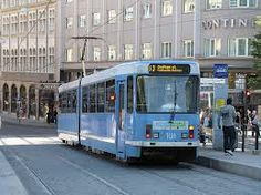 trams in Oslo, Norway