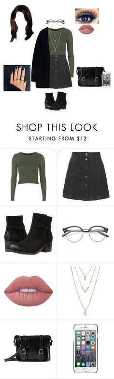 """My Style #1 ( fancy casual)"" by treasurematlock ❤ liked on Polyvore featuring Topshop, Billabong, Lime Crime, Laneige, Aéropostale, Dr. Martens, Moschino and Acne Studios"