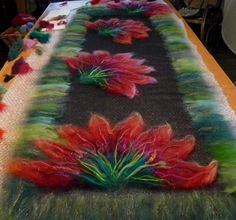 ... images about wet felting on Pinterest | Wool, Felt art and Wet felting