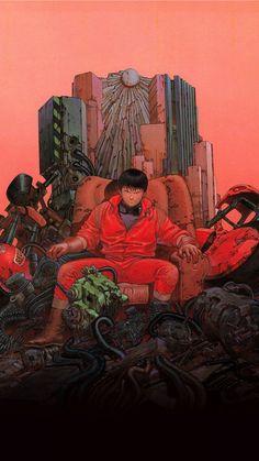 《Akira》 by 大友克洋 Katsuhiro Otomo Art And Illustration, Illustrations, Manga Anime, Manga Art, Anime Art, Otaku Anime, Bd Comics, Anime Comics, Akira Kaneda