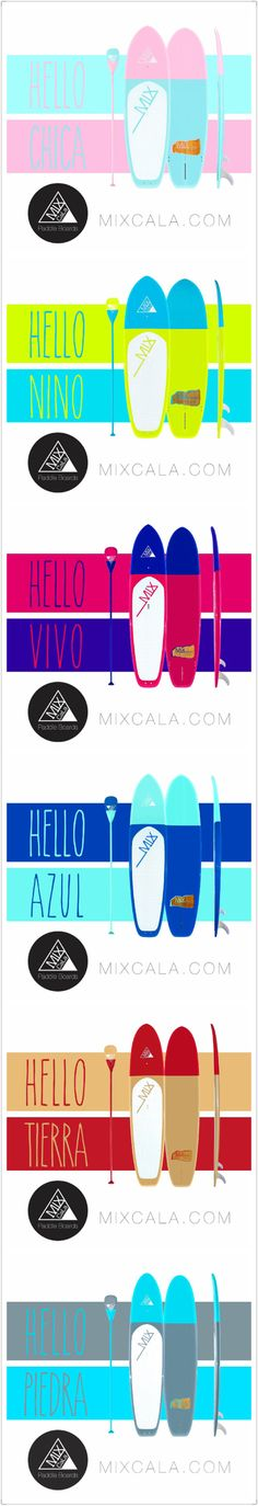 Happy Friday! Easter weekend is here. What's your plan for the holiday. We hope everyone have a nice Easter weekend. MixCaLa got all the Easter colorful SUP Stand-Up Paddle Boards and Paddles. With the duo-tone color-block design your board will never go out of style. Get the matching paddle along with your board. Be Stylish, Be Happy, #BeMixCaLa If you like big colors like we do, you can be a mixer! MixCaLa, mixing colors only at MIXCALA.COM