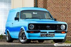 Classic Cars British, Ford Classic Cars, Classic Trucks, Classic Auto, Old Vintage Cars, Vintage Vans, Ford Capri, Ford Escort, Escort Mk1