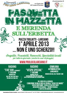 Easter Monday in Asciano