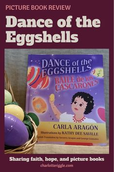 A sweet bilingual book about Easter traditions being handed down from grandparents to their grandchildren. #easter #traditions #cascarones #diversebooks