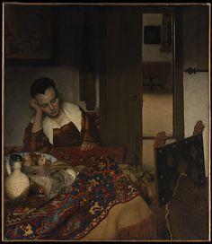 A Maid Asleep Johannes Vermeer  (Dutch, Delft 1632–1675 Delft) Date: ca. 1656–57 Medium: Oil on canvas Accession Number: 14.40.611