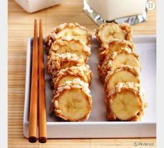 La banane sushi aux céréales