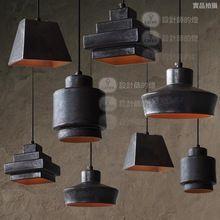 la lampe de Loft bar-restaurant de style européen de l'ancienne Amérique industrielle chambre seule tête junk- tas Chandelier(China (Mainland))
