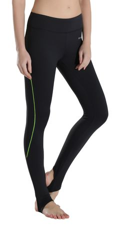 b776ffd6e084f MotoRun Women's Active Barre Workout Yoga Stirrup Leggings Stretchy Gym  Running Pants Full Length (XL