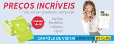 Pensando em imprimir seus cartões de visita? Acesse: www.papira.com.br Cartões a partir de R$ 15,95