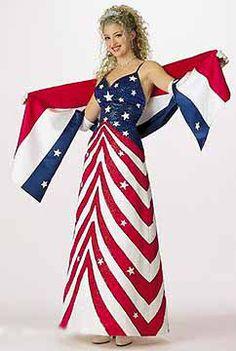Disneymoooner Flag gown #2