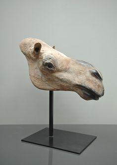 """Quentin Garel, Chameau I , Bronze, 23½""""  x 21¾"""" x 10½""""  #art #sculpture #bdgny"""