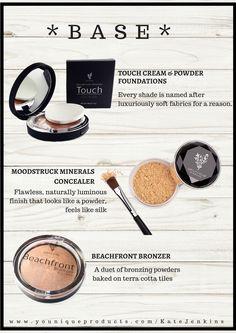 Cream, Powder & Mineral Foundation, Bronzer
