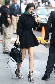June 3, 2014 - Kylie Jenner heading to 'Good Morning America' in NYC.