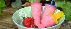 aardbeien ijsjes zelf maken